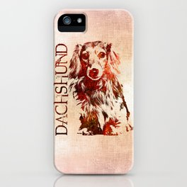 Dachshund dog  - Doxie iPhone Case