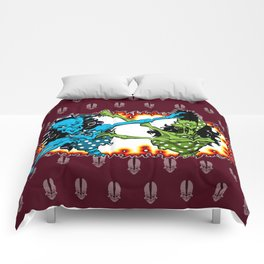Psychobilly Catfight Comforters