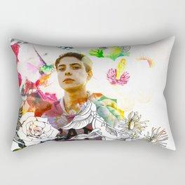 beautiful arrogance Rectangular Pillow