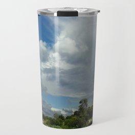 Antennas and Clouds Travel Mug