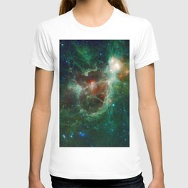 The Heart and Soul nebulae (NASA's Wide-field Infrared Survey Explorer) T-shirt