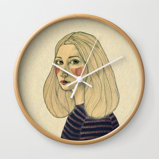 Susie Wall Clock