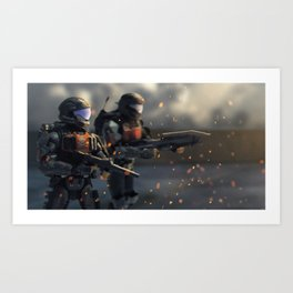 Helljumpers Art Print