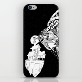 movie in space iPhone Skin