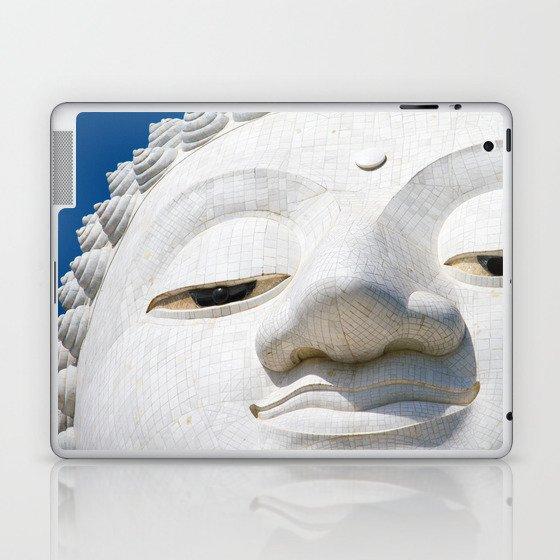 Face of Buddha Laptop & iPad Skin
