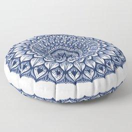 Sand Dollar-Navy Floor Pillow