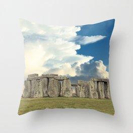 Stonehenge VI Throw Pillow