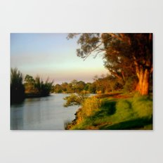 Banks of the Thompson River Canvas Print