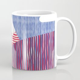 House in the Hills Pink & Blue Coffee Mug