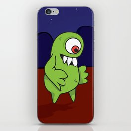 Space Character iPhone Skin