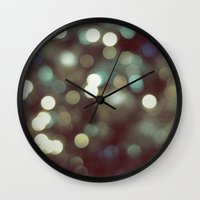 cosmos Wall Clocks featuring Cosmos by RichCaspian