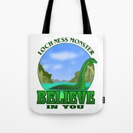LOCH NESS MONSTER Tote Bag