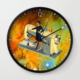 Barbara's Spaceship Wall Clock