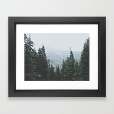 Forest Window Framed Art Print