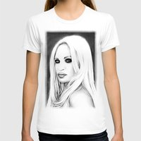 versace T-shirts featuring Donatella Versace by Denda Reloaded