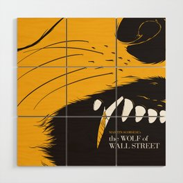 The Wolf of Wall Street | Fan Poster Design Wood Wall Art