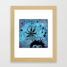 Monkey Monster Framed Art Print
