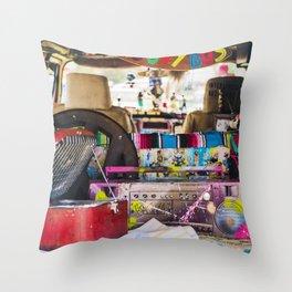 Dub life Throw Pillow