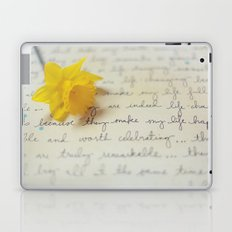 They Make My Life Happy Laptop & iPad Skin