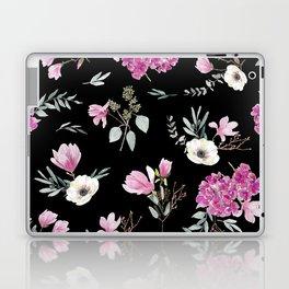 Magnolias, anemones, geranium and eucalyptus Laptop & iPad Skin
