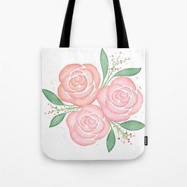 Roses in Spring Tote Bag