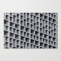 grid Canvas Prints featuring Grid by Cameron Booth