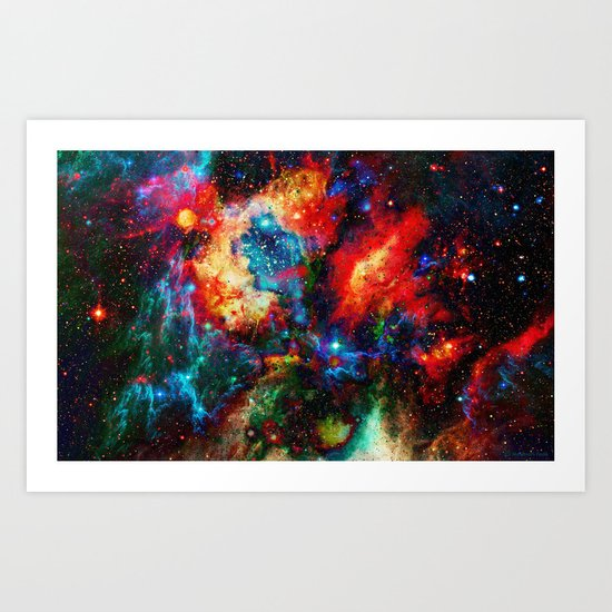 Everything is nothing 14 (therefore it was beautiful) Art Print