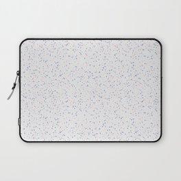 Speckles I: Rose Quartz & Serenity on Snow Laptop Sleeve