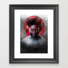 The Pain Lets You Know That You're Alive Framed Art Print