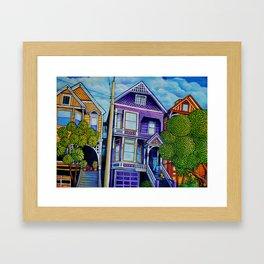 710 Ashbury Framed Art Print