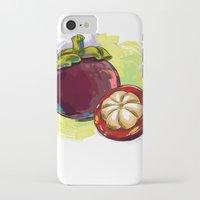 vietnam iPhone & iPod Cases featuring Vietnam Mangosteen by Vietnam T-shirt Project