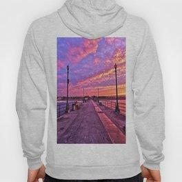 Sunrise Huntington Beach Pier   11/12/13 Hoody