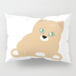 Cat yellow Pillow Sham