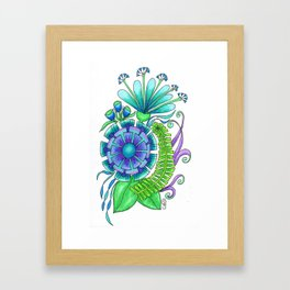 Dori Framed Art Print