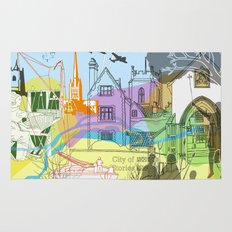 Norwich- City of Stories Rug