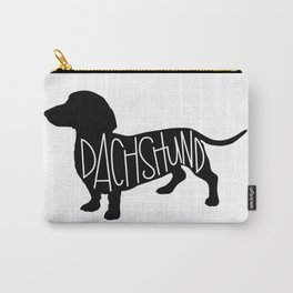 Dachshund Silhouetter Carry-All Pouch