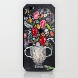 Dark Garden iPhone Skin