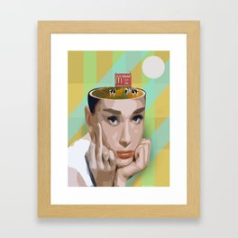 """Super Lies"" by Butter And Salmon Framed Art Print"