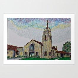 St Francis Borgia Art Print