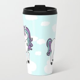 Kawaii unicorn Travel Mug