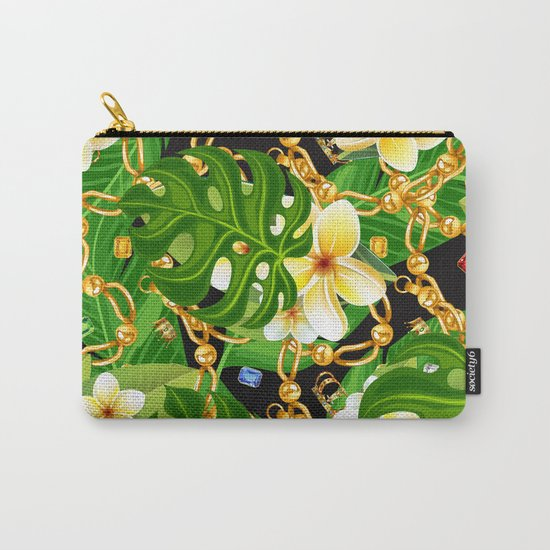 tropical elegant  Carry-All Pouch