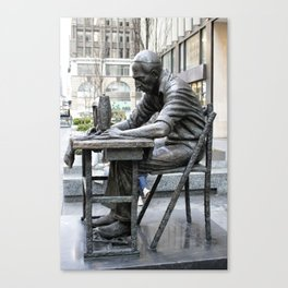 The Garment Worker Canvas Print