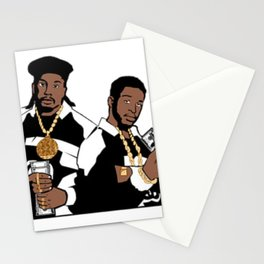 Rap Legends Paid in full Stationery Cards