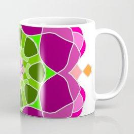 Mandala in crazy colors Coffee Mug