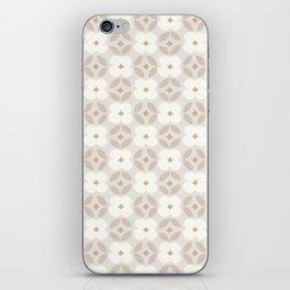 Cotton Blooms Pattern iPhone Skin