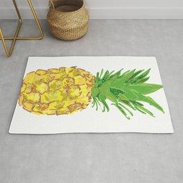 Statement Pineapple Rug