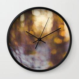 Glitter Globe Wall Clock