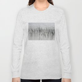 Evening Music - Calm and Peaceful Grasses Long Sleeve T-shirt
