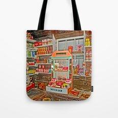 The Old Corner Shop. Tote Bag
