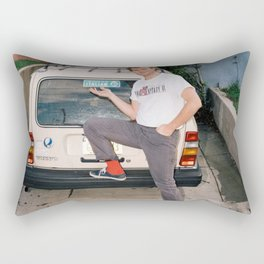 Mac Demarco Italian Meme Rectangular Pillow